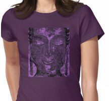 Buddha of Compassion 1 Design 2 Womens Fitted T-Shirt