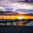 Jetty Sunset by RikG