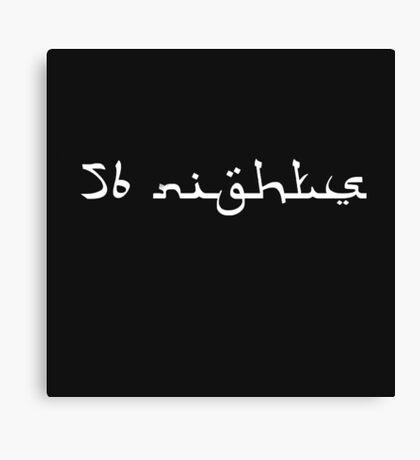 Future - 56 Nights  Canvas Print