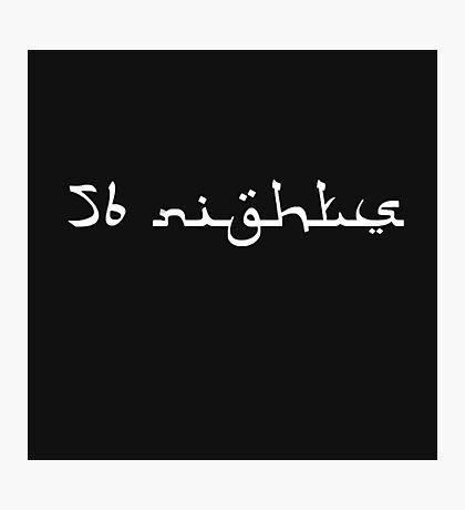 Future - 56 Nights  Photographic Print