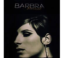 Barbra Streisand Promo Poster / Mixed Media Photographic Print