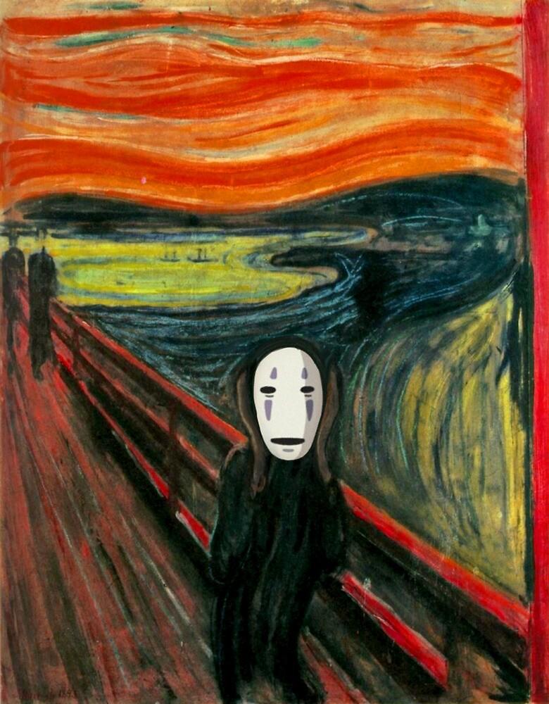 The Spirited Scream by drsimonbutler