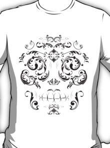 Swirly Skull T-Shirt