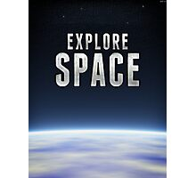 Explore Space Photographic Print