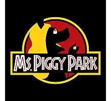 Miss Piggy Park Photographic Print