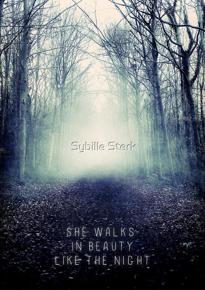 She Walks In Beauty by Sybille Sterk