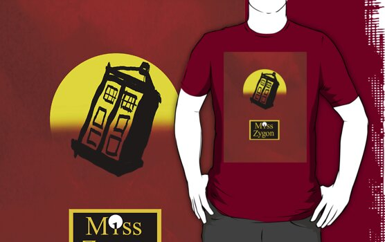 Miss Zygon (Red) by Dancing In The Graveyard