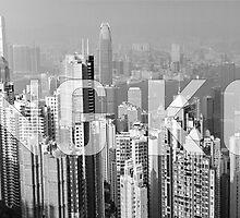 Hong Kong Skyline by Maximilian Ammann