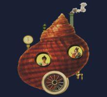 Steampunk Snail Shell Kids Clothes