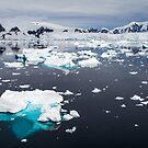Icescape - Orne Harbour, Antarctica by DestnUnknown