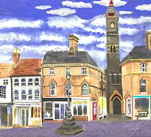 Louth Clock Tower Lincs. by CreativMichelle