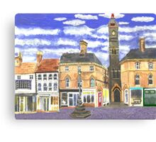Louth Clock Tower Lincs. Canvas Print