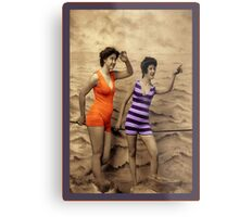 Swimming Fashion Metal Print