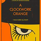 CLOCKWORK ORANGE MOVIE POSTER by JazzberryBlue