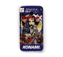 Castlevania Akumajo Dracula X Nintendo Super Famicom Japanese Box Art Samsung Galaxy Case/Skin