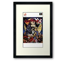 Castlevania Akumajo Dracula X Nintendo Super Famicom Japanese Box Art Framed Print