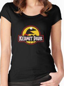 Kermit Park Women's Fitted Scoop T-Shirt