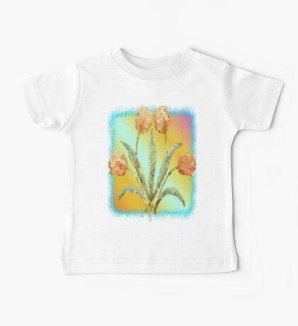 Colourful Tulips Baby Tee