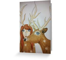 You are deer to me Greeting Card