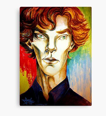 Sherlock: A Study in Colour Canvas Print