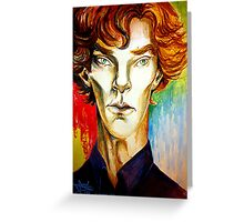 Sherlock: A Study in Colour Greeting Card