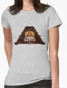 VINTAGE AMERICAN BROWN BEER. Womens Fitted T-Shirt