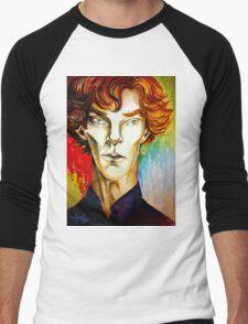 Sherlock: A Study in Colour Men's Baseball ¾ T-Shirt