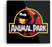 Animal Park Metal Print