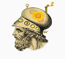 Steampunk Greek Helmet Unisex T-Shirt