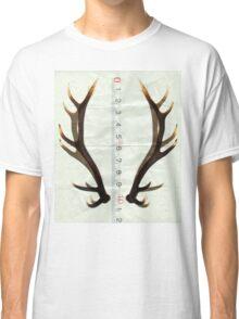 antlers measure Classic T-Shirt