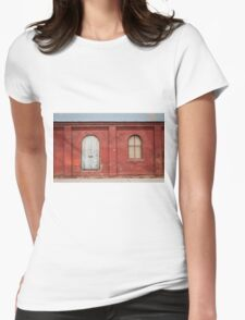 Old Blacksmith Building Womens Fitted T-Shirt