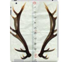 antlers measure iPad Case/Skin