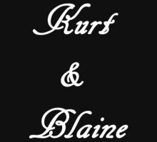 Kurt & Blaine (White) by LexyDC