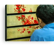 Vietnamese Lacquer Painter Canvas Print
