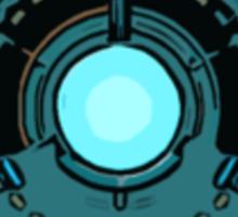 Iron man Arc reactor. Sticker