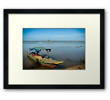 Tonlé Sap Lake Framed Print