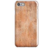 Gritty Orange iPhone Case/Skin