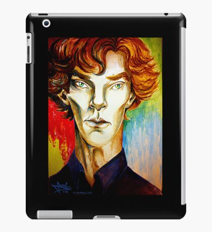 Sherlock: A Study in Colour iPad Case/Skin