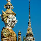 Imperial Grand Palace Guardian by mlphoto