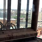 Top of the Providence Biltmore Glass Elevator by endomental Artistry