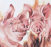 Porky - Pals by Bev  Wells