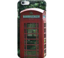 1935 Telephone Kiosk - King George V - I iPhone Case/Skin