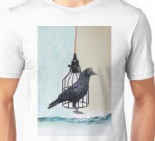 bird in the wire Unisex T-Shirt