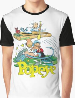 Popeye Graphic T-Shirt