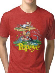 Popeye Tri-blend T-Shirt