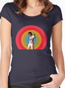ELVIS. Women's Fitted Scoop T-Shirt