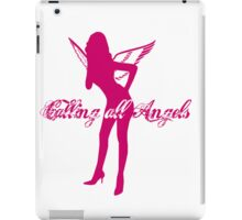 Calling All Angels 1 iPad Case/Skin