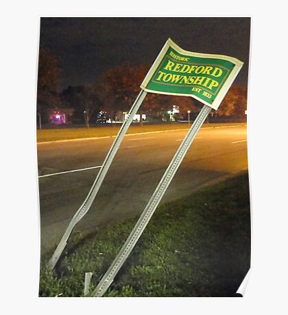 Welcome To Redford Township Poster