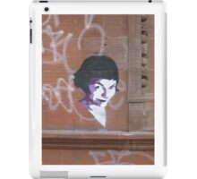 Amelie Stencil art on sandstone, now on iPhone and iPod iPad Case/Skin