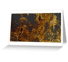 Gold in Midst  Greeting Card